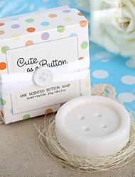 """""""Cute as a Button"""" Button Soap Favor"""