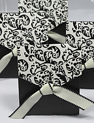 Creative Card Paper Favor Holder With Ribbons Favor Boxes-12