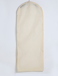 Two Layers Waterproof Cotton / Tulle Gown Length Garment Bag