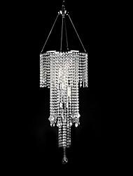 povoljno -QINGMING® Privjesak Svjetla Ambient Light - Crystal Mini Style, Modern / Comtemporary, 110-120V 220-240V Bulb not included