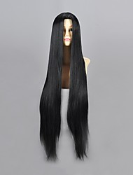 Cosplay Wigs Naruto Haku Ha Black Long Anime Cosplay Wigs 100 CM Heat Resistant Fiber Male