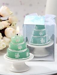 Chá de Bebê Favores da vela Piece / Set Velas Verde