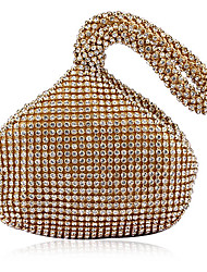 cheap -Women's Bags Acrylic Evening Bag Crystal/ Rhinestone for Event/Party All Seasons Gold White Black