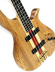 Недорогие -Derulo - (dn1) профессиональные России вязов электрической бас-гитаре с сумкой концерт / ремень / выборы / кабеля