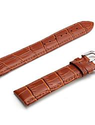 Unisex Genuine Leather Watch Strap 22MM(Brown) Cool Watch Unique Watch Fashion Watch