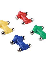 Недорогие -мини магнитное игрушечную машинку с металлическими колесами (4-х частей упаковке)