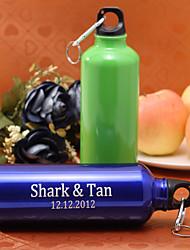 abordables -personnalisé bouteille de 500 ml de sport en alliage d'aluminium (plus colores)
