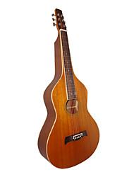 Недорогие -Aiersi - (09WBR) Фанера Mahogany Deeper тела Weissenborn гитары / Акустические гавайская гитара Слайд с Gig Bag (Satin)