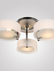 cheap -Modern/Contemporary Flush Mount For Living Room Bedroom Study Room/Office Bulb Not Included