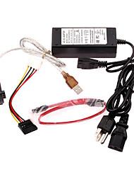 3-in-1 integriertem Kabel (SATA & 3.5ide & 2.5ide)