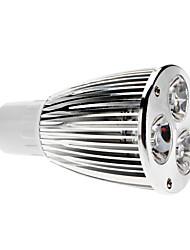 billige -600 lm GU10 LED-spotlys MR16 3 LED Perler COB Dæmpbar Varm hvid 220-240 V