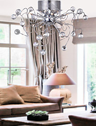 cheap -Chandeliers Crystal Modern Design Living 9 Lights