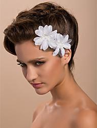 Недорогие -Женский Атлас Заставка-Свадьба Особые случаи На каждый день на открытом воздухе Вуалетки Цветы