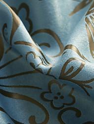 Недорогие -2 шторы Окно Лечение Modern , Жаккардовое переплетение Животное Спальня Полиэстер материал Шторы портьеры Украшение дома