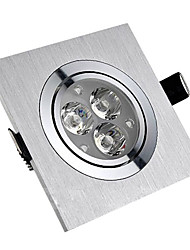 SL® 3W LED Ceiling Light with 3 LEDs in Square Feature