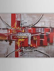 Pintados à mão Abstrato 1 Painel Tela Pintura a Óleo For Decoração para casa