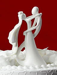 cheap -Cake Topper Classic Theme Classic Couple Ceramic Wedding Bridal Shower With Gift Box