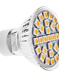 GU10 LED Spotlight MR16 29 SMD 5050 170 lm Warm White K AC 100-240 V