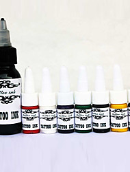 Top Quality Tattoo Inks Set 1*30 ml and 7*5ml