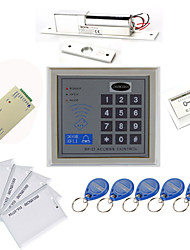 preiswerte -Stand Alone Access Controller Kits (Electric Bolt, 10 EM-ID Card, Power Supply)