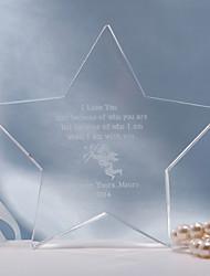 billige -Kakepynt Personalisert Krystall Bridal Shower / Jubileum / Bryllup Gavepose