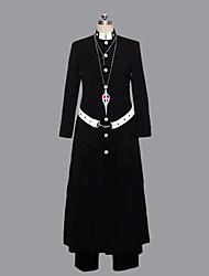 Ispirato da Blue Exorcist Shirou Fujimoto Anime Costumi Cosplay Abiti Cosplay Collage Manica lunga Cappotto Pantaloni Cintura Per Uomo