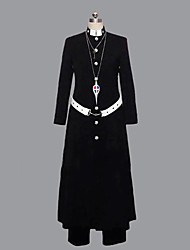 povoljno -Inspirirana Blue Exorcist Shirou Fujimoto Anime Cosplay nošnje Cosplay Suits Kolaž Dugih rukava Kaput Hlače Pojas Za Muškarci