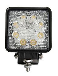 24W Rettangolo 8 Luce di lavoro LED