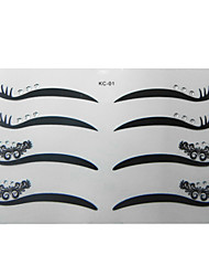 billige -4 Par Charm Cat Eye Eyeliner Stickers