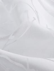 Недорогие -1 панель Окно Лечение Деревенский Лист Спальня Полиэстер материал Украшение дома