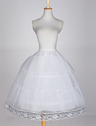 cheap -Wedding Special Occasion Slips Tulle Netting Taffeta Ball Gown Slip With Lace-trimmed bottom
