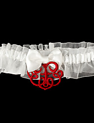 Jarra de casamento de cetim com acessórios clássicos de casamento estilo elegante