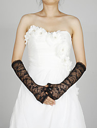 Lace Elbow Length Glove Party/ Evening Gloves Classical Feminine Style