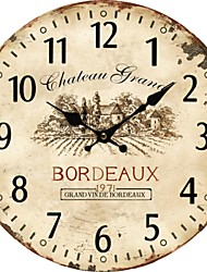 cheap -Euro Country Wall Clock 1pc
