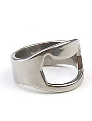 cheap -2.2cm Finger Ring Style Mini Alloy Bottle Opener Barware Kitchen & Dining
