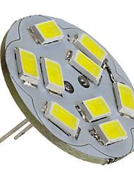 2W G4 LED Spotlight 9 SMD 5730 230lm Natural White 6000K DC 12V