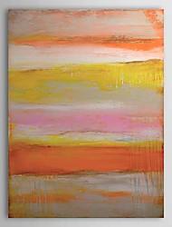 Ručno oslikana Sažetak Vertikalno Platno Hang oslikana uljanim bojama Početna Dekoracija Jedna ploha