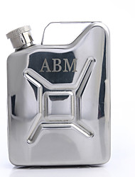 cheap -Groom Groomsman Parents Stainless Steel Leatherette Hip Flasks Wedding Anniversary Birthday