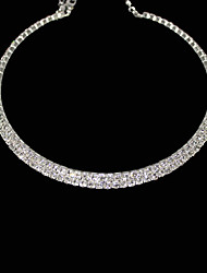 cheap -Women's Choker Necklace  -  Crystal, Rhinestone Necklace For Party