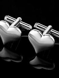 Gift Groomsman Heart Design Cufflinks