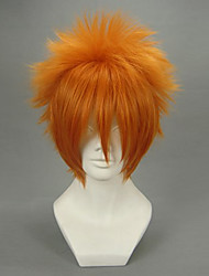 cheap -Cosplay Wigs Vampire Knight Akatsuki Cain Anime Cosplay Wigs 30 CM Heat Resistant Fiber Men's