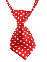 Cat Dog Tie/Bow Tie Dog Clothes Birthday Wedding Fashion Polka Dots Random Color