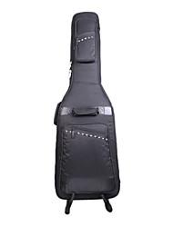 Недорогие -Входящие - (106042) Высококачественный 4-карман Rivet бас-гитара сумка с ремешком Невидимый