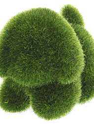 cheap -Grass Land Handmade Animal Pekingese with Artificial Turf