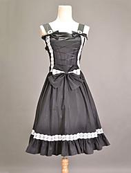 economico -Lolita Classica e Tradizionale Principessa Da principessa Da donna Un Pezzo Vestiti Cosplay Senza maniche