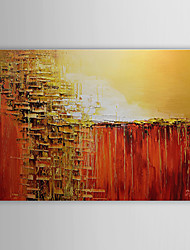 Hand-Painted Abstract Horizontal,Classic One Panel Oil Painting For Home Decoration