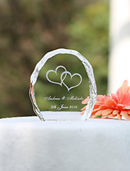 cheap -Cake Topper Garden Theme Crystal With Elegant Wedding Reception