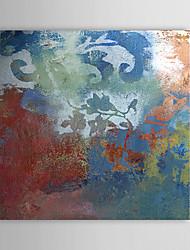 billige -Hånd-malede Abstrakt Et Panel Canvas Hang-Painted Oliemaleri For Hjem Dekoration