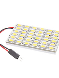 cheap -T10 BA9S Festoon Car White 8W SMD 5730 6000-6500 Reading Light
