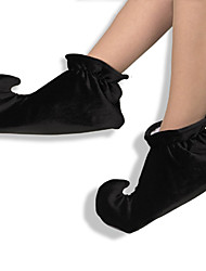 cheap -Burlesque Clown / Circus Shoes Men's / Women's Halloween Festival / Holiday Halloween Costumes Solid Colored